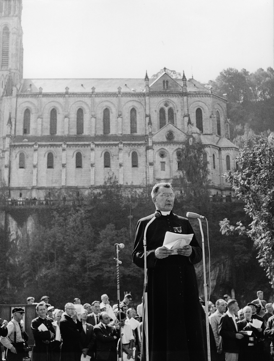 Discours à Lourdes