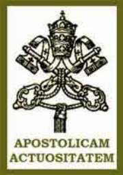 Apostolicam Actuositatem - Wikipedia